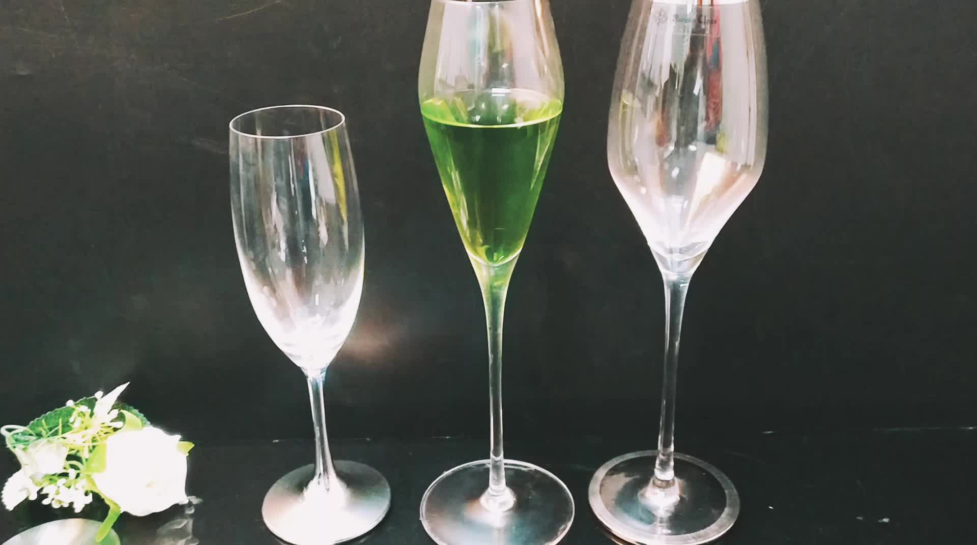 High Quality Wine Glasses China Wholesale Crystal Champagne Glasses Wine Glass With
