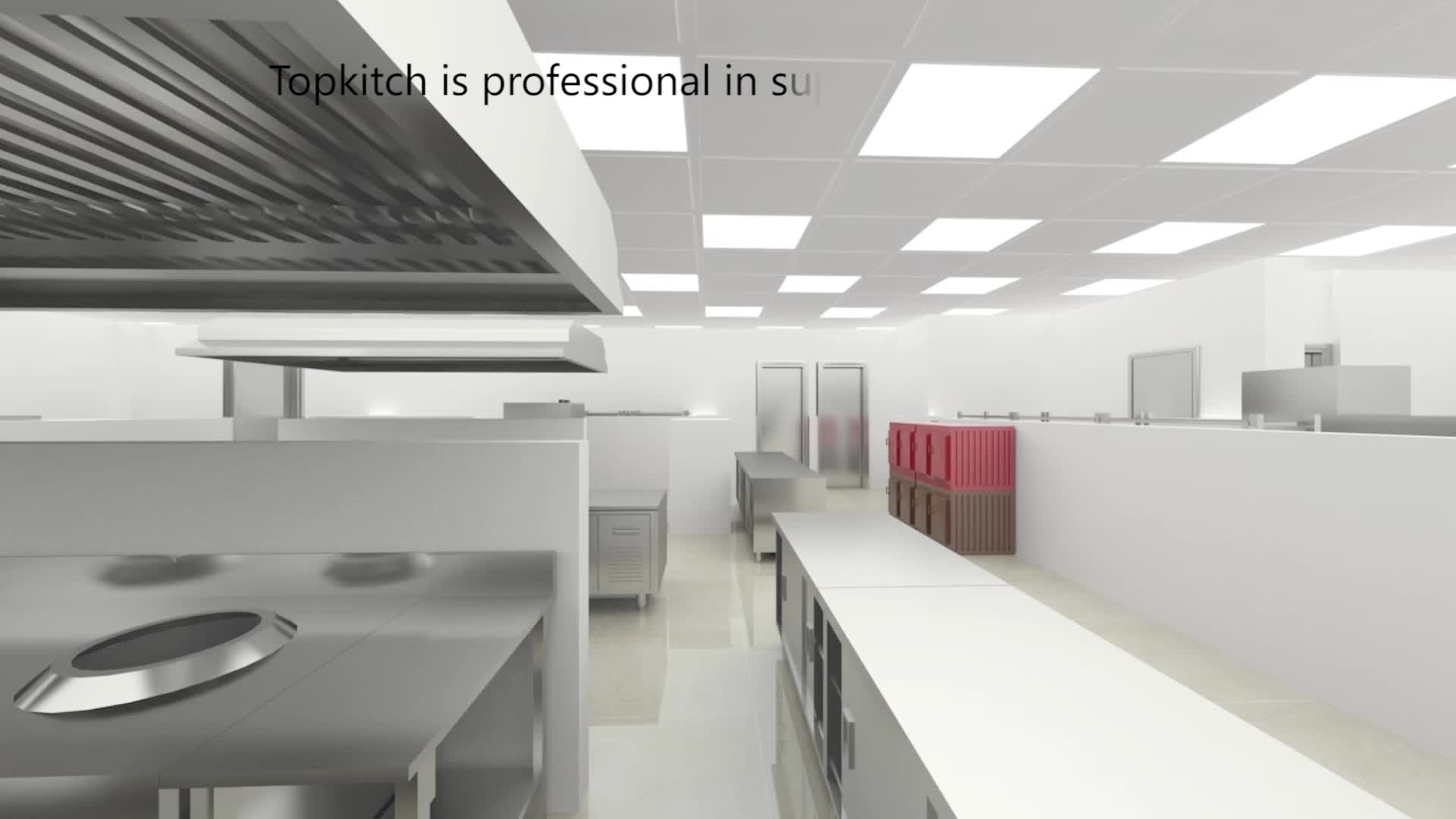 Commercial Kitchen 3d Design High Quality Cad Layout 3d Design Hotel Equipment View Hotel