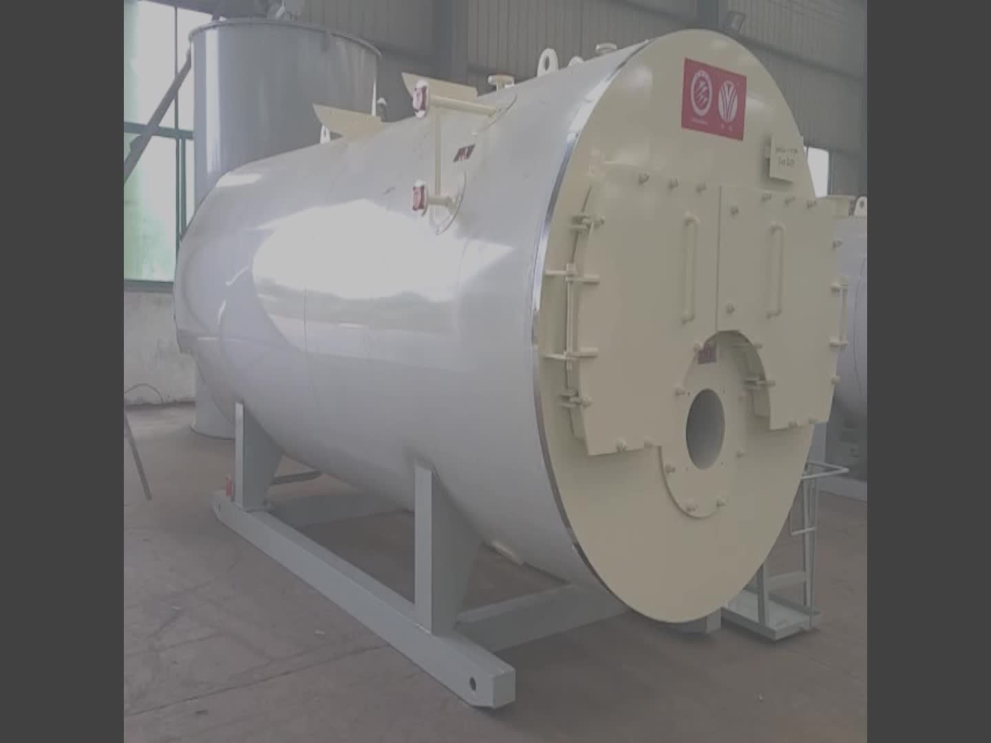 Gebrauchte Zelthallen H U T Industrial Solution Use For Laundry Fire Tube Natural Gas Steam Boiler Price 1