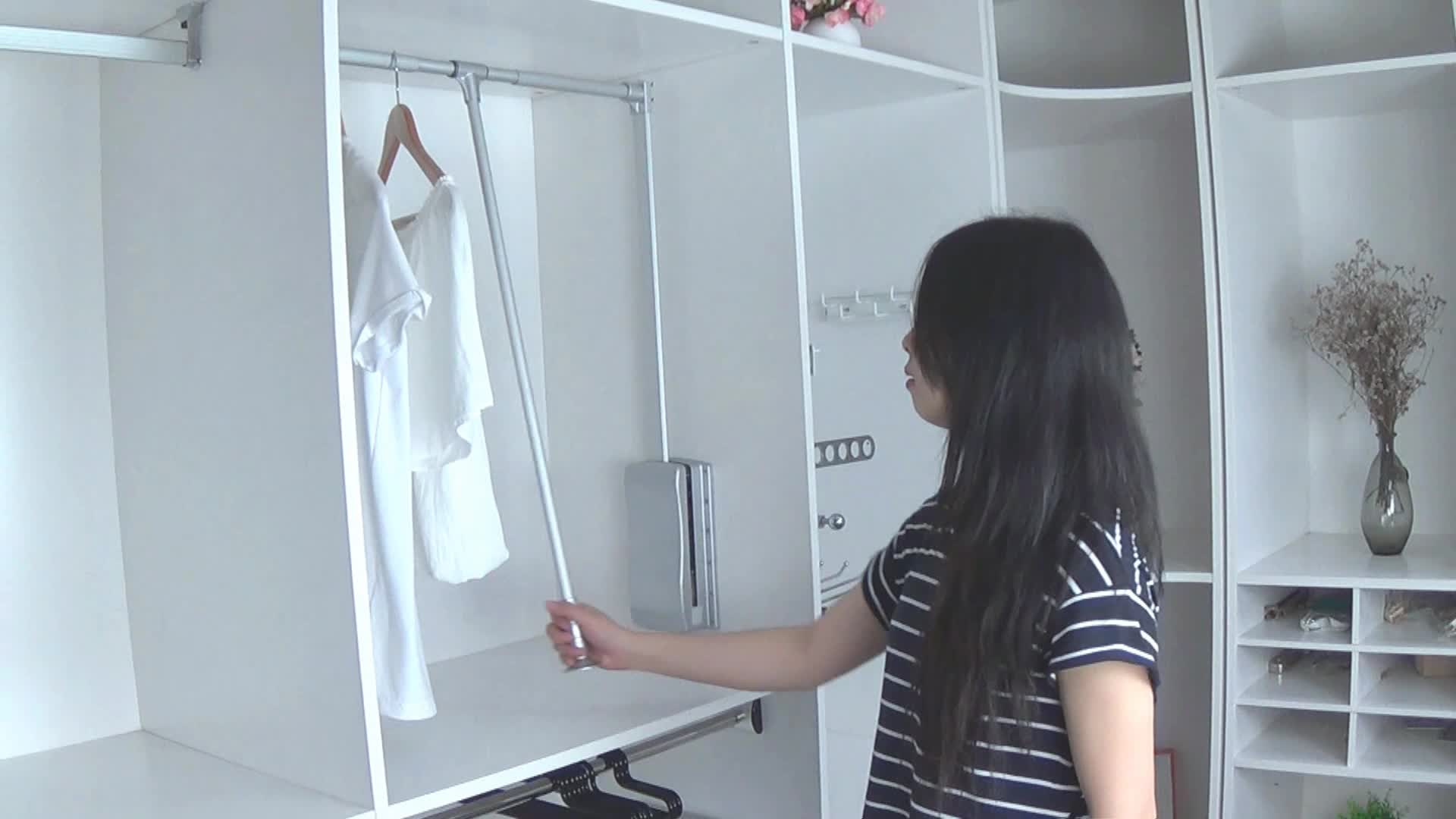 Ikea Wardrobe Valet Pull Down Clothes Rack | Bindu Bhatia Astrology
