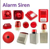 Conventional Fire Alarm Strobe Siren 1/3 Tone And Led ...