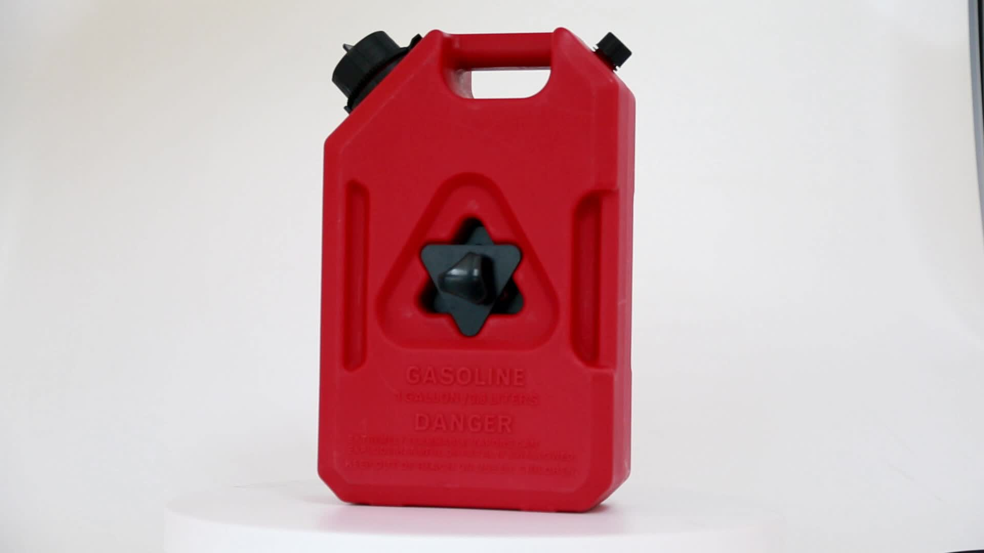 Jerrycan Action 10 Litre Plastic Carrying Petrol In Jerry Cans With Holder