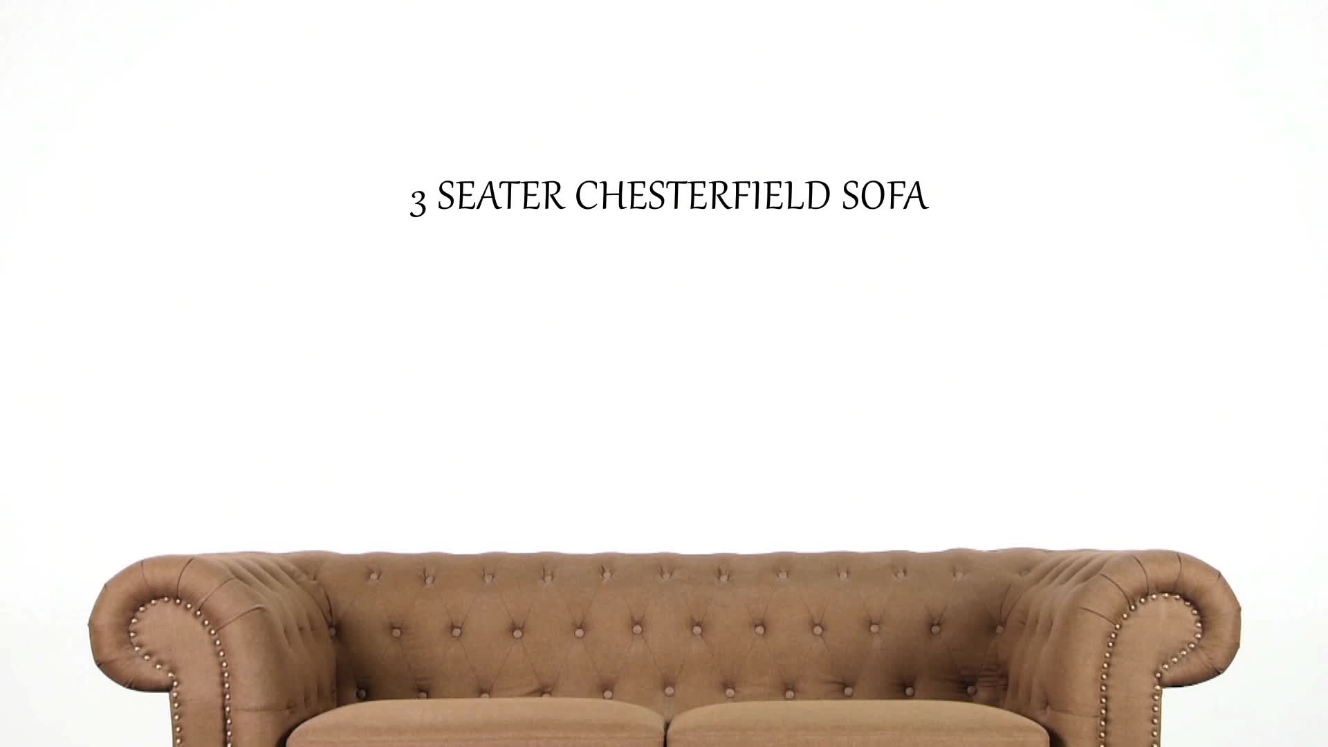 Buy A Chesterfield Sofa Classic Fabric Chesterfield Button Tufted Sofa Set Design