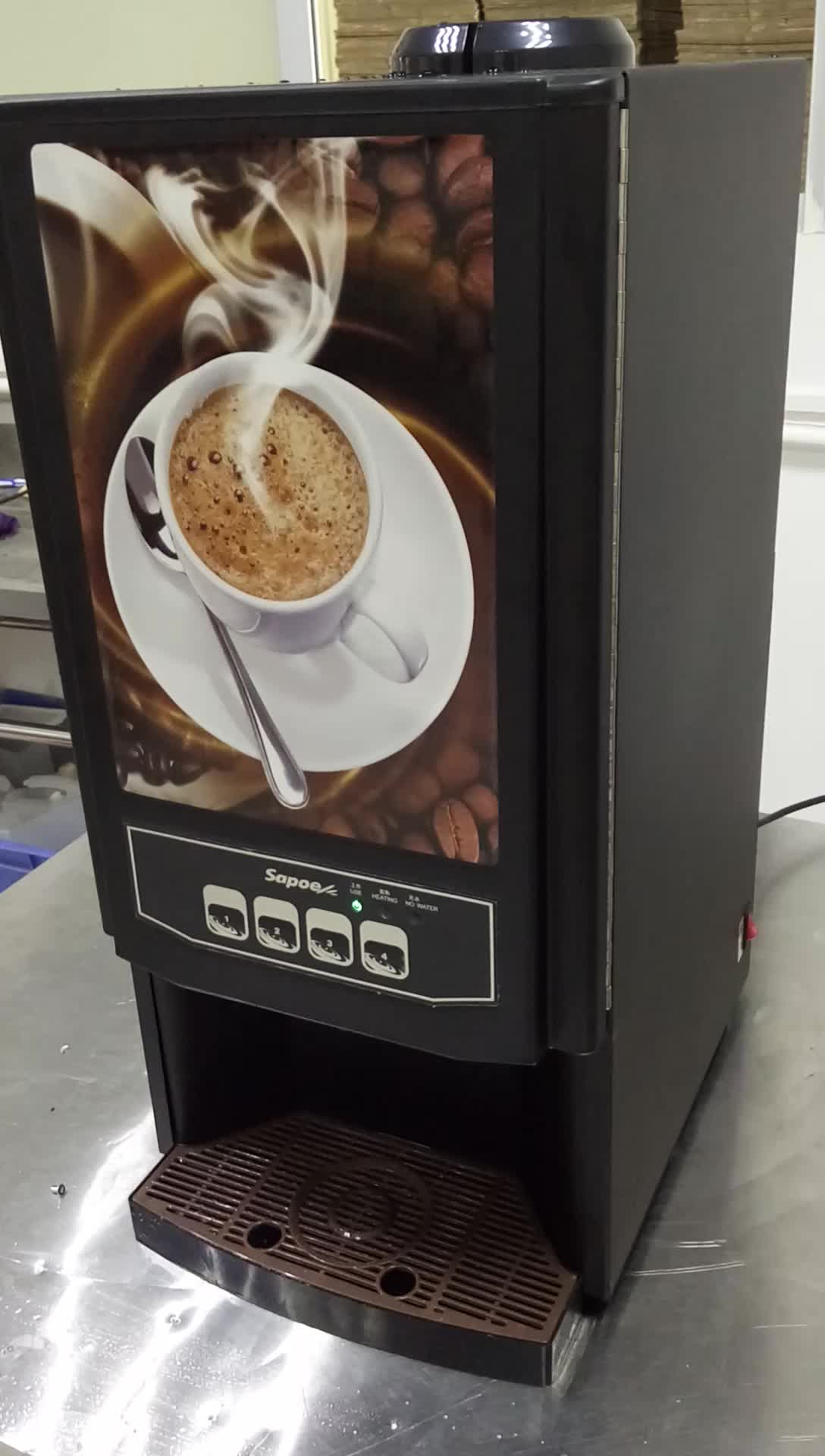Idee Kaffee Office Coffee Service Nescafe Tea Kaffee Maschinen Vending Machine 2 Flavors