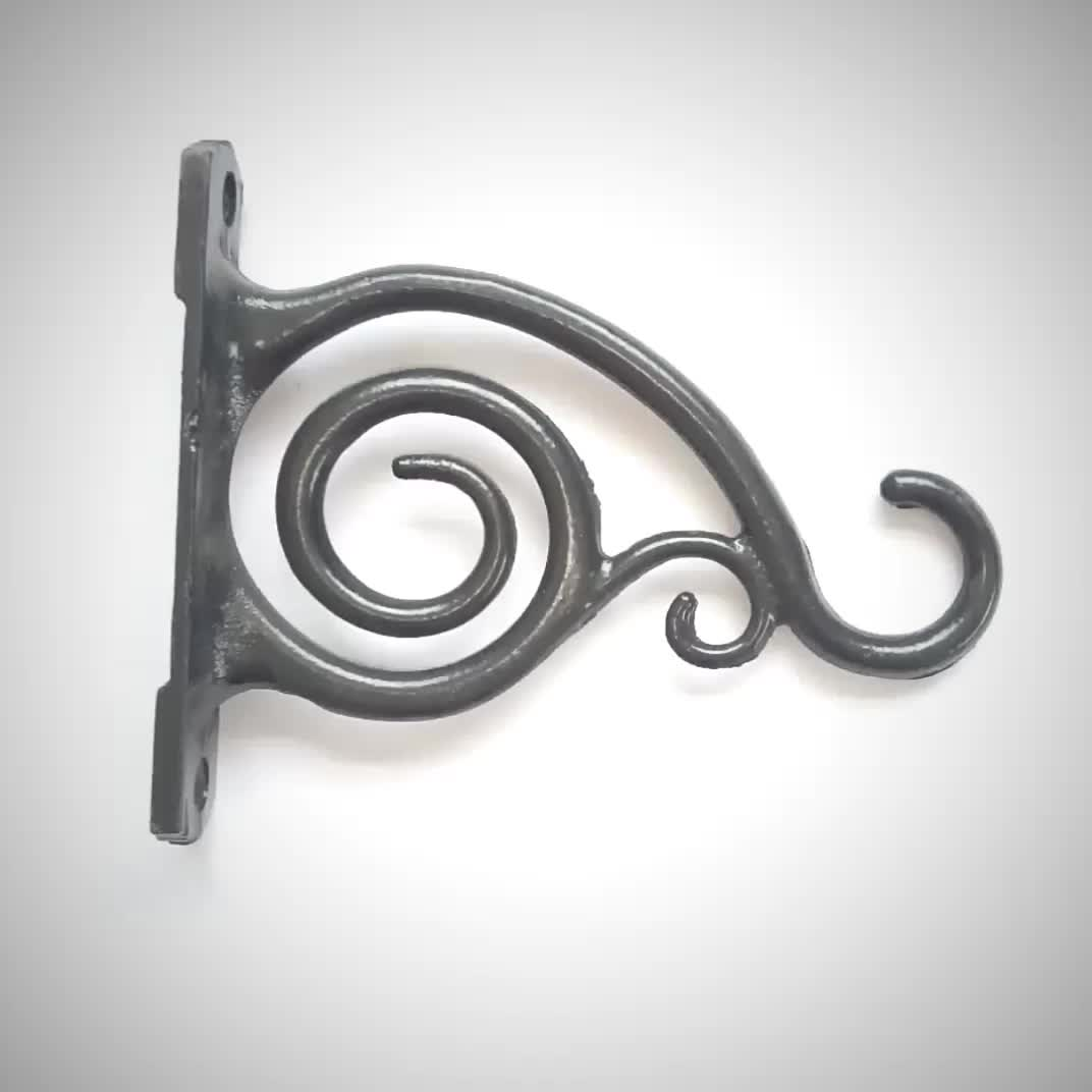 Decorative Single Wall Hooks Decorative Wrought Iron Wall Hanging Hook Buy Hanging