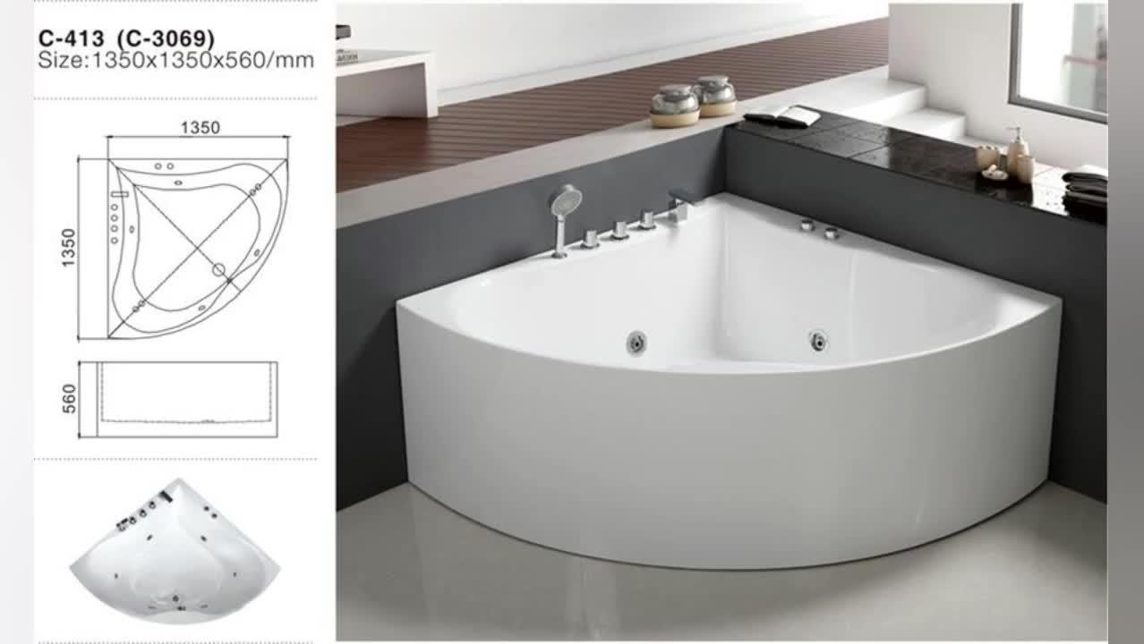 Vasca Da Bagno Tonda Piccola : Vasca da bagno rotonda vasca da bagno tonda in legno tropic