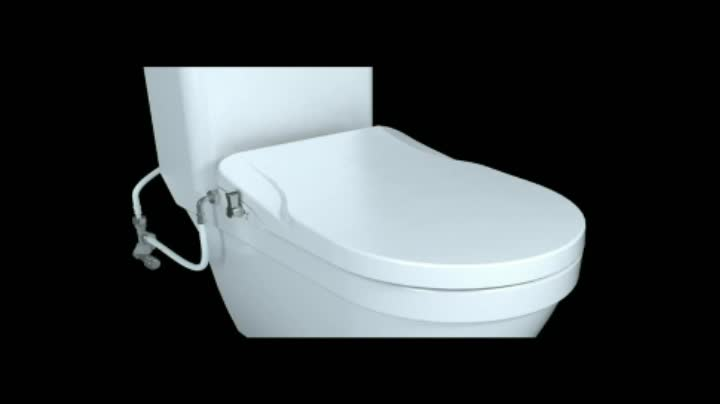Watermark Certificated Non Electric Toilet Bidet Seats