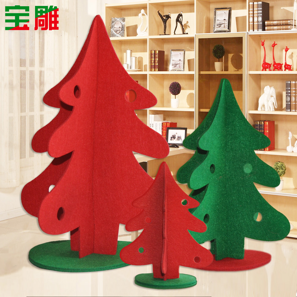 Decoration Parterre Buy Bao Carved Christmas Scene Christmas Tree Fence Fence White