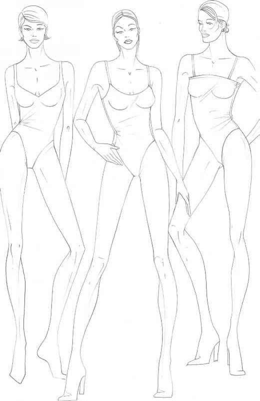 Best 25+ Fashion figure drawing ideas on Pinterest Fashion - blank fashion design templates