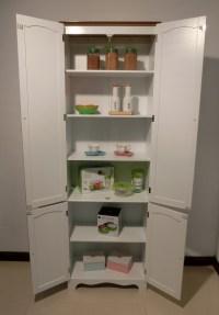 Kitchen Pantry Linen Storage Cabinet Cupboard Bathroom ...