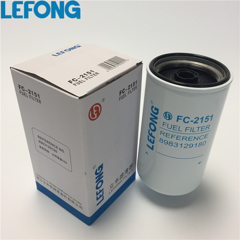 8983129180 connect to Isuzu diesel filter oil filter fuel filter 8