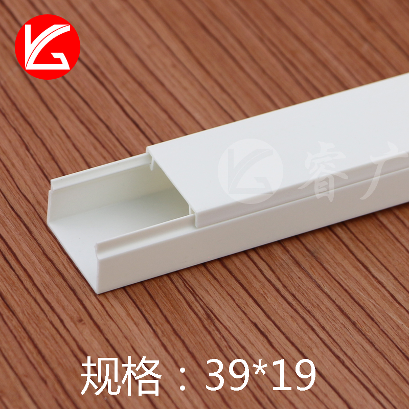 USD 452 39*19PVC trunking surface mounted square flame retardant