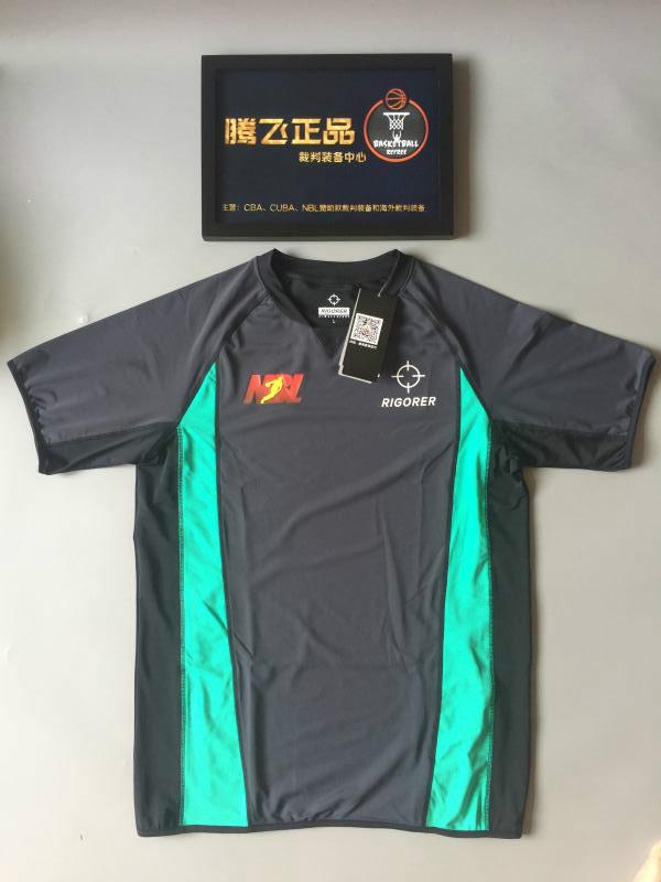 Authentic prospective referee dress NBL sponsorship basketball