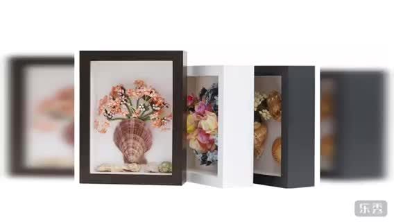 Handmade Customize Black 8x8 3d Shadow Box Frame Buy