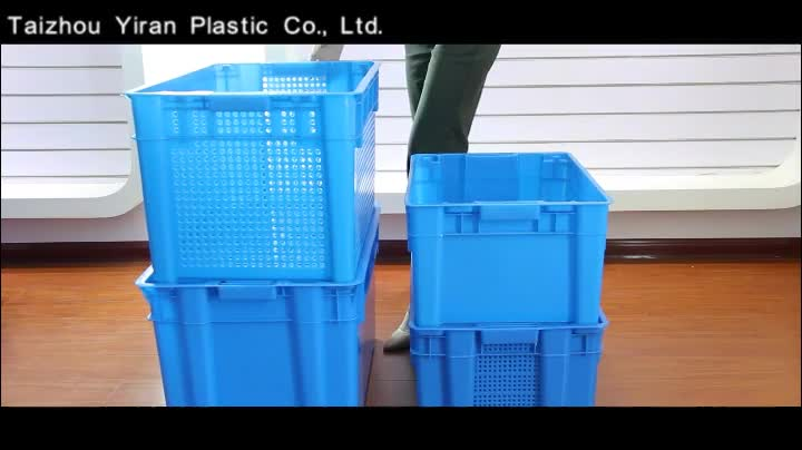 Cheap Nesting Plastic Distribution Containers Turnover Box