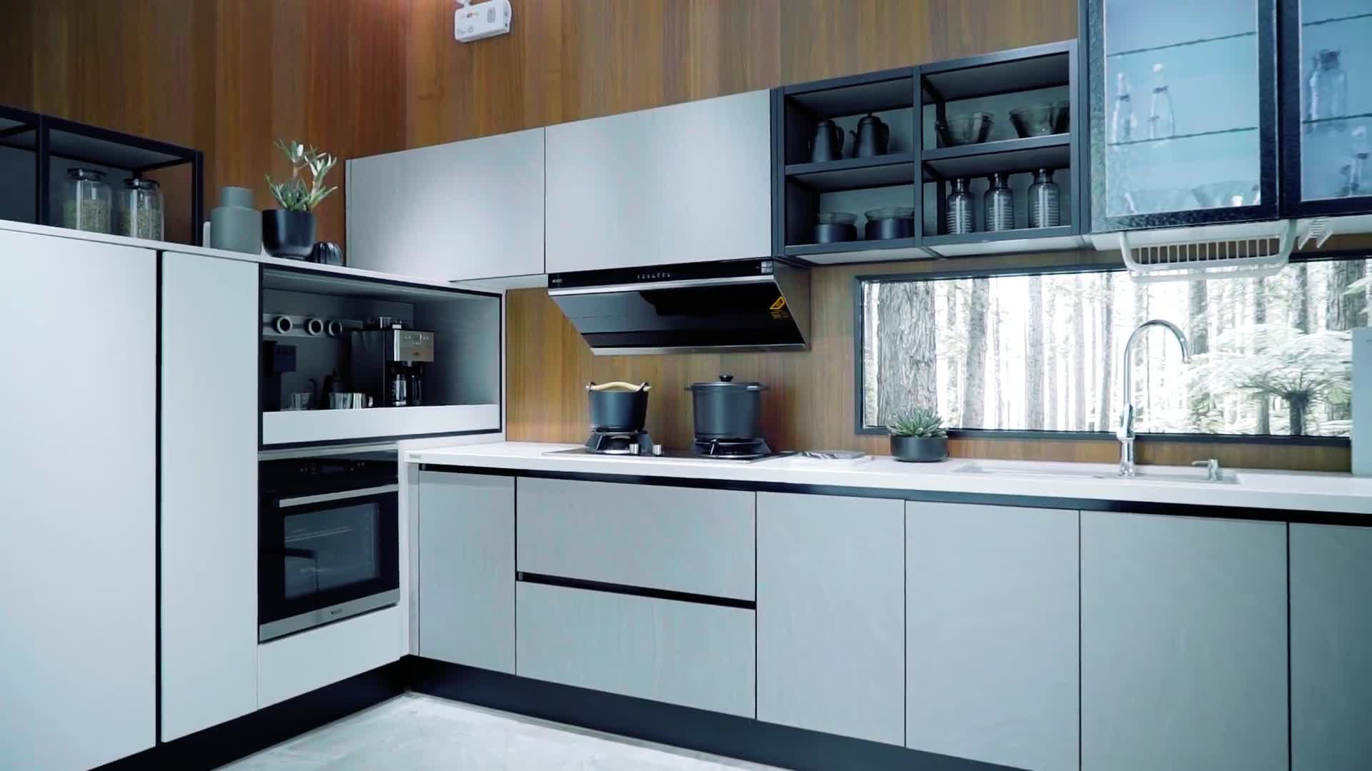 Modern Kitchen Designs Buy Online Oppein Vietnam Contemporary Kitchen Cabinets Designs For