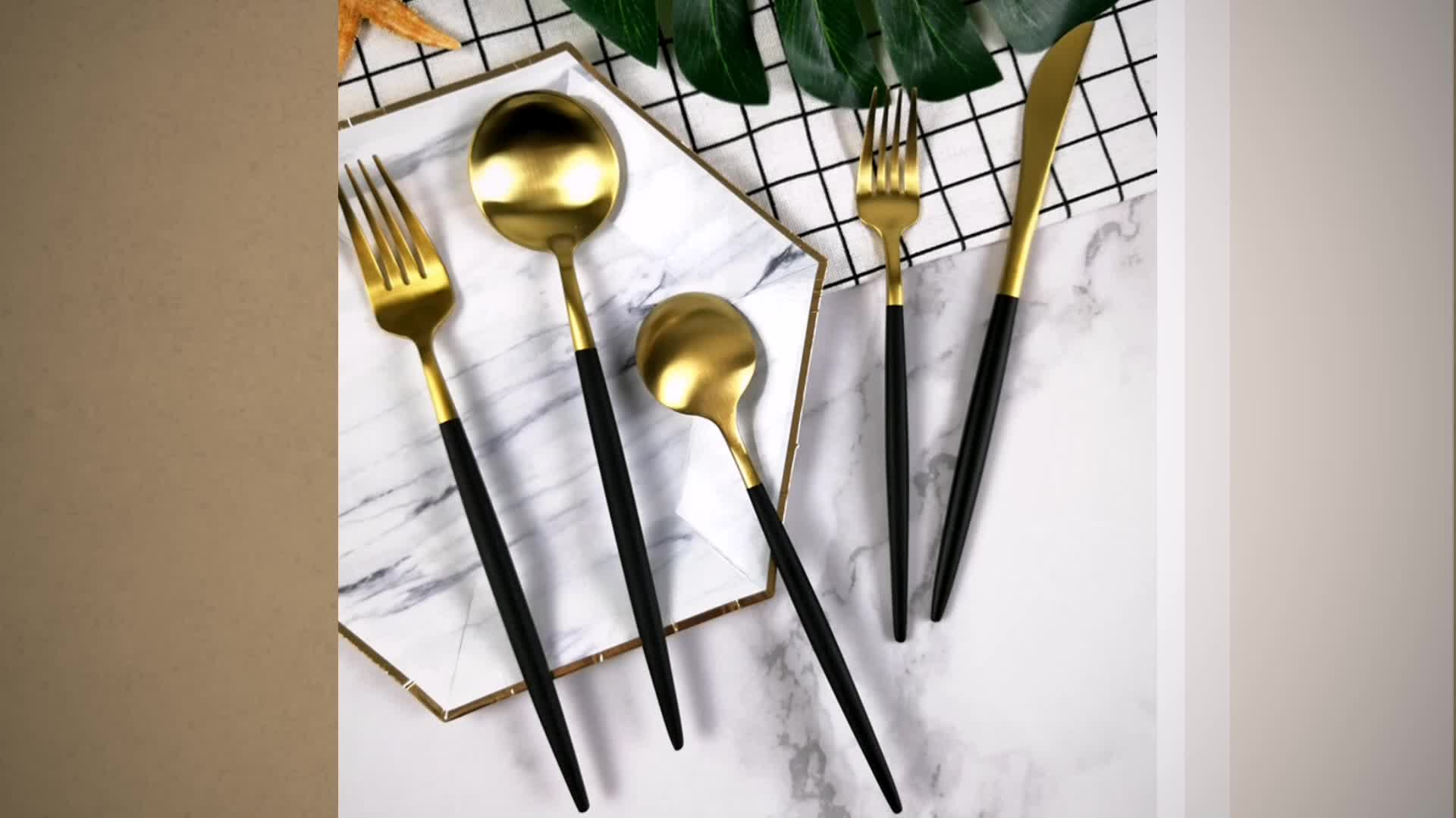 High End Cutlery 24pc Hotel Used Restaurant Flatware With High End 304 18