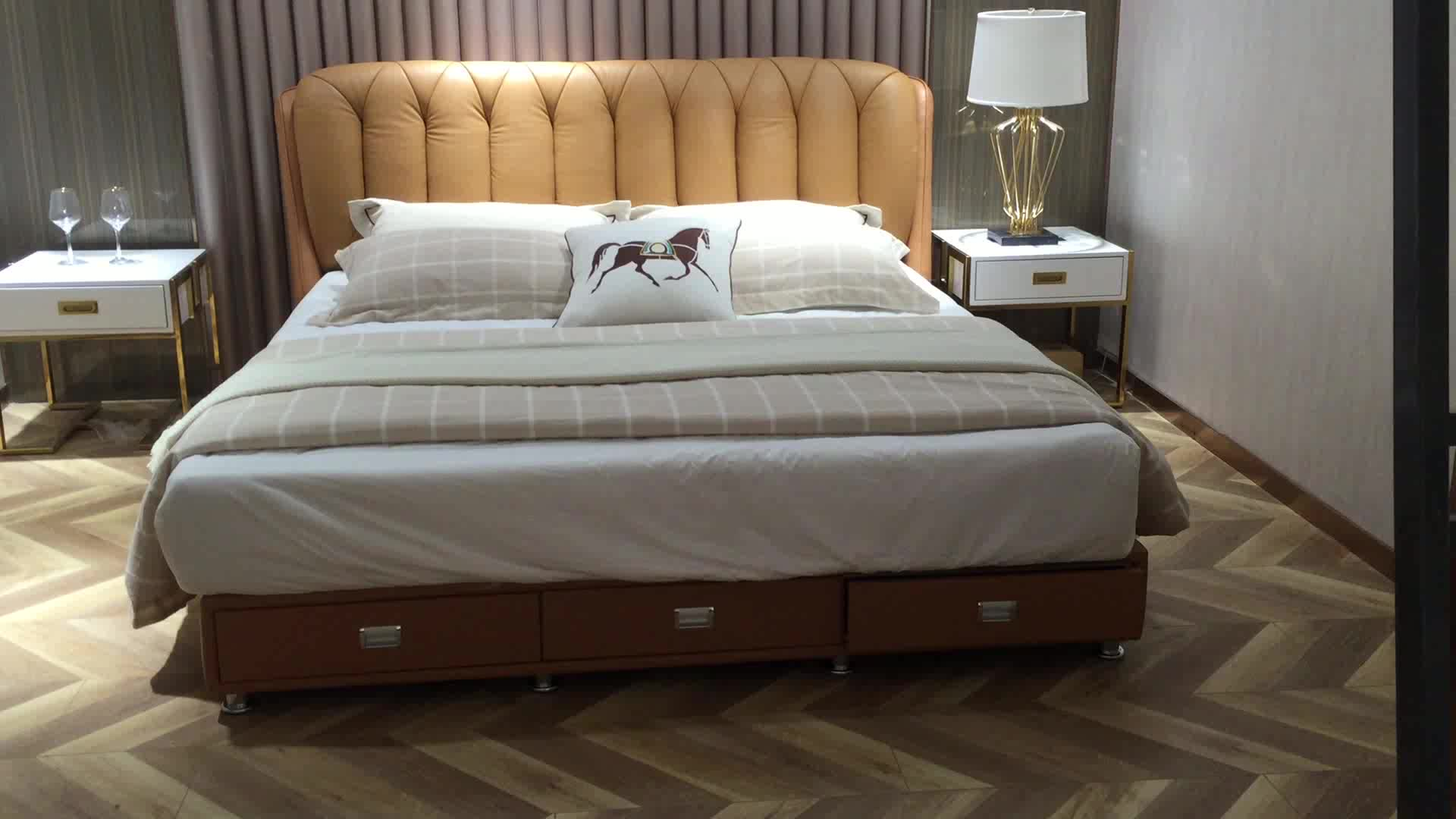 Leather Bed Frame Wholesale Furniture China Alibaba Furniture Leather Single Pink Red Leather Bed Frame View Bed Frame Leather Nondo Product Details From Chengdu