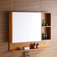Wooden Mirrored Bathroom Cabinets. bathroom makeover ...