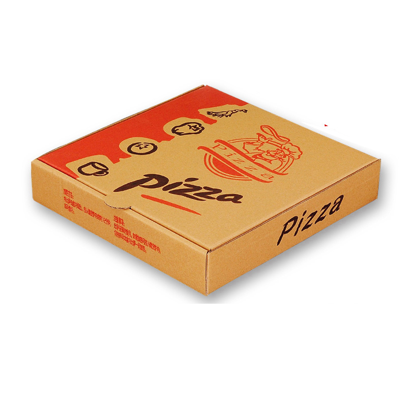 USD 1066 New creative meida pizza pizza box leather corrugated
