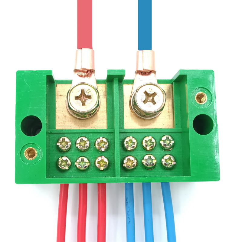 USD 673 Single-phase two into six out junction box junction box