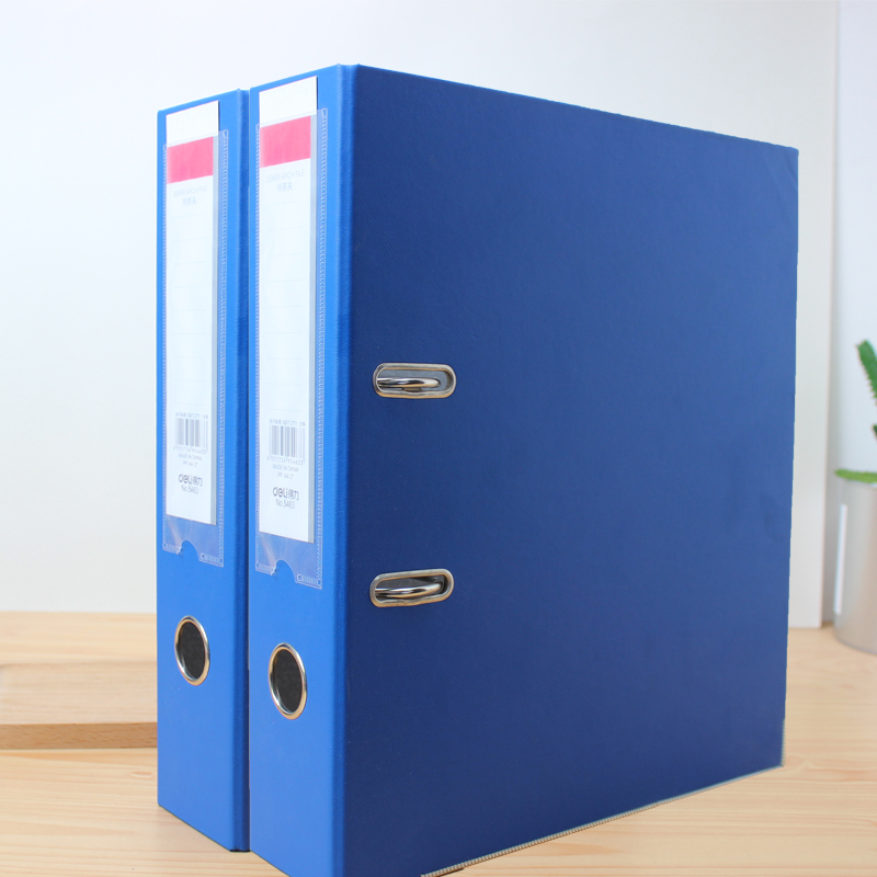 Loose-leaf folder perforated a4 horizontal effective perforated folder
