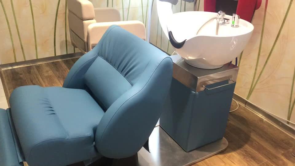 Wholesale Salon Equipment Luxury Portable Lay Down Washing