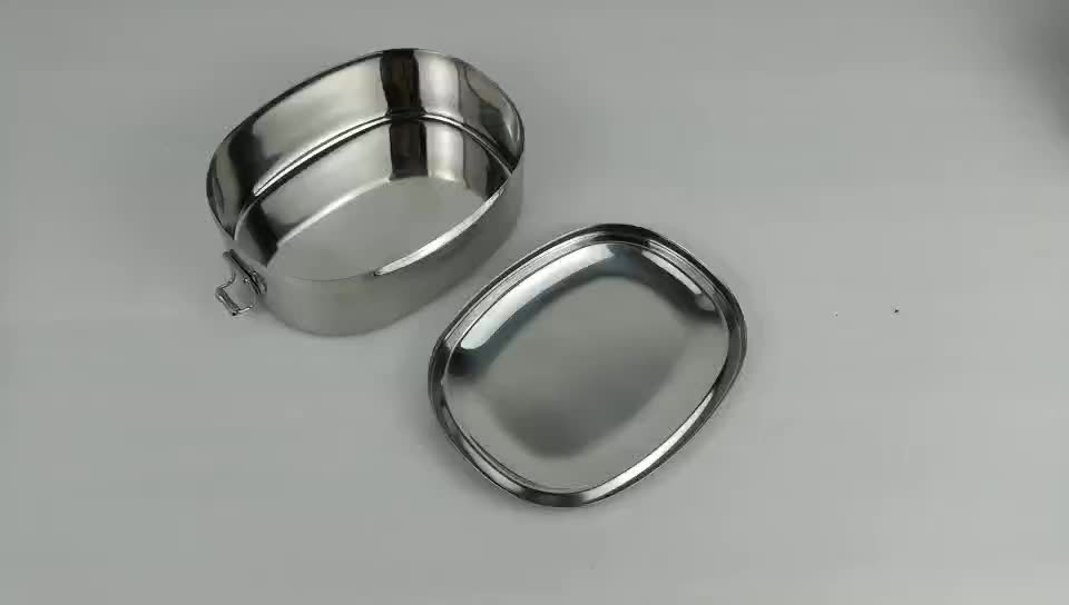 Hot Sell 304 Stainless Steel Food Containers Bento Lunch