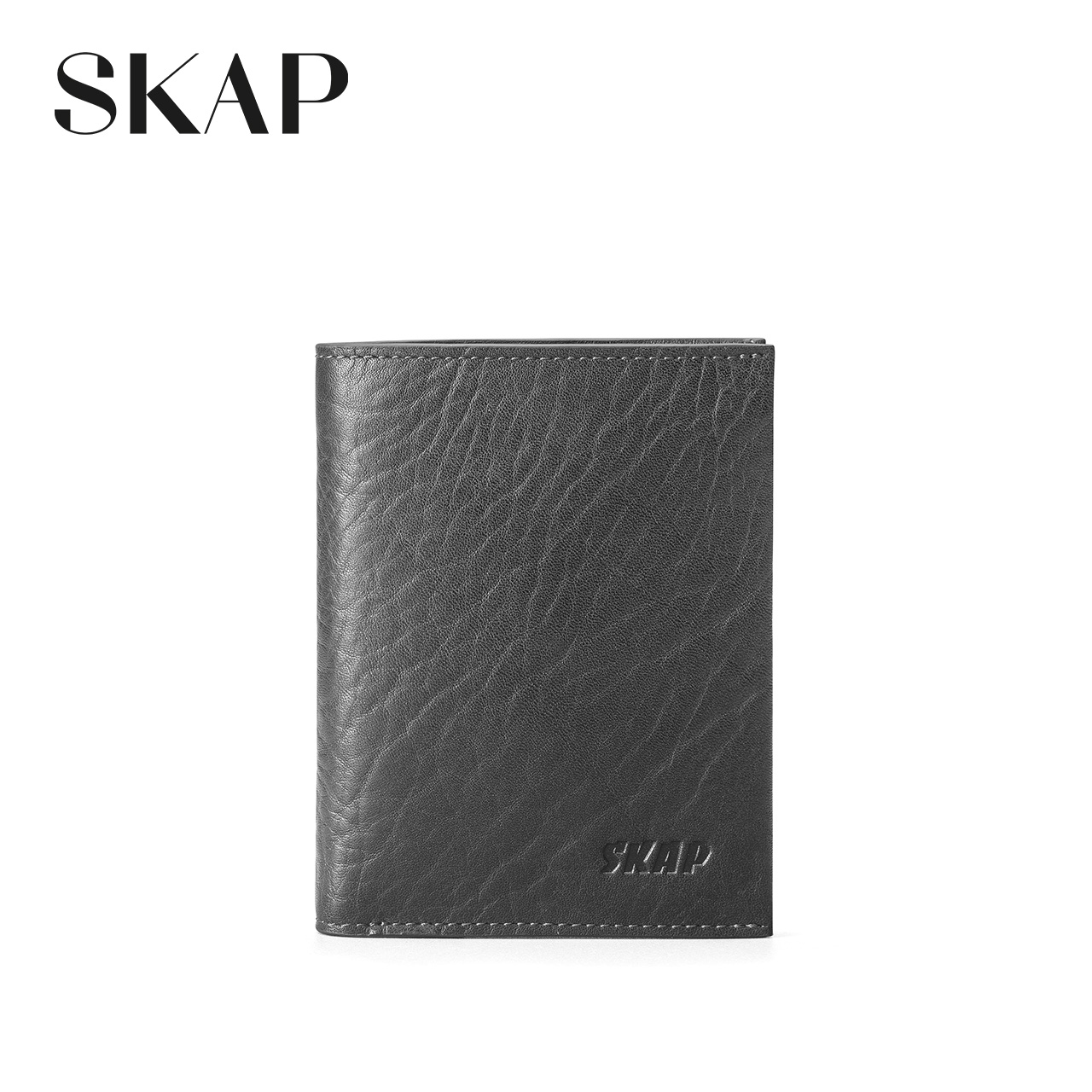 Folder Gamma Skap Saint Gamma Male Vertical Section Simple Wallet First Layer Of Leather New Short Business Ticket Folder 20724273