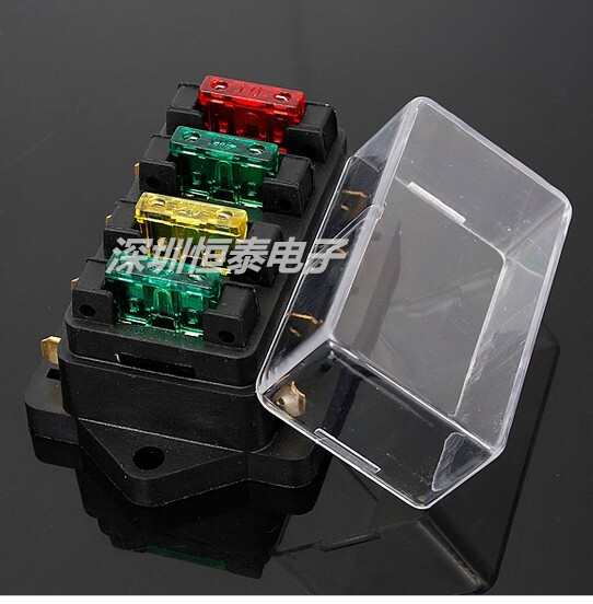 6 8 10 12 multi-channel fuse holder assembly car fuse box cruise ship