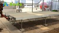 Greenhouse Kits Rolling Bench Growing Tables For ...
