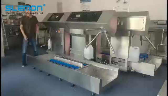 Large Industrial Automatic Hygiene Cleaning Station For