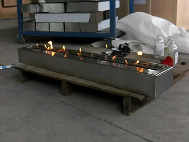 36inch Stainless Steel Manual Bio Ethanol Fireplace Burner