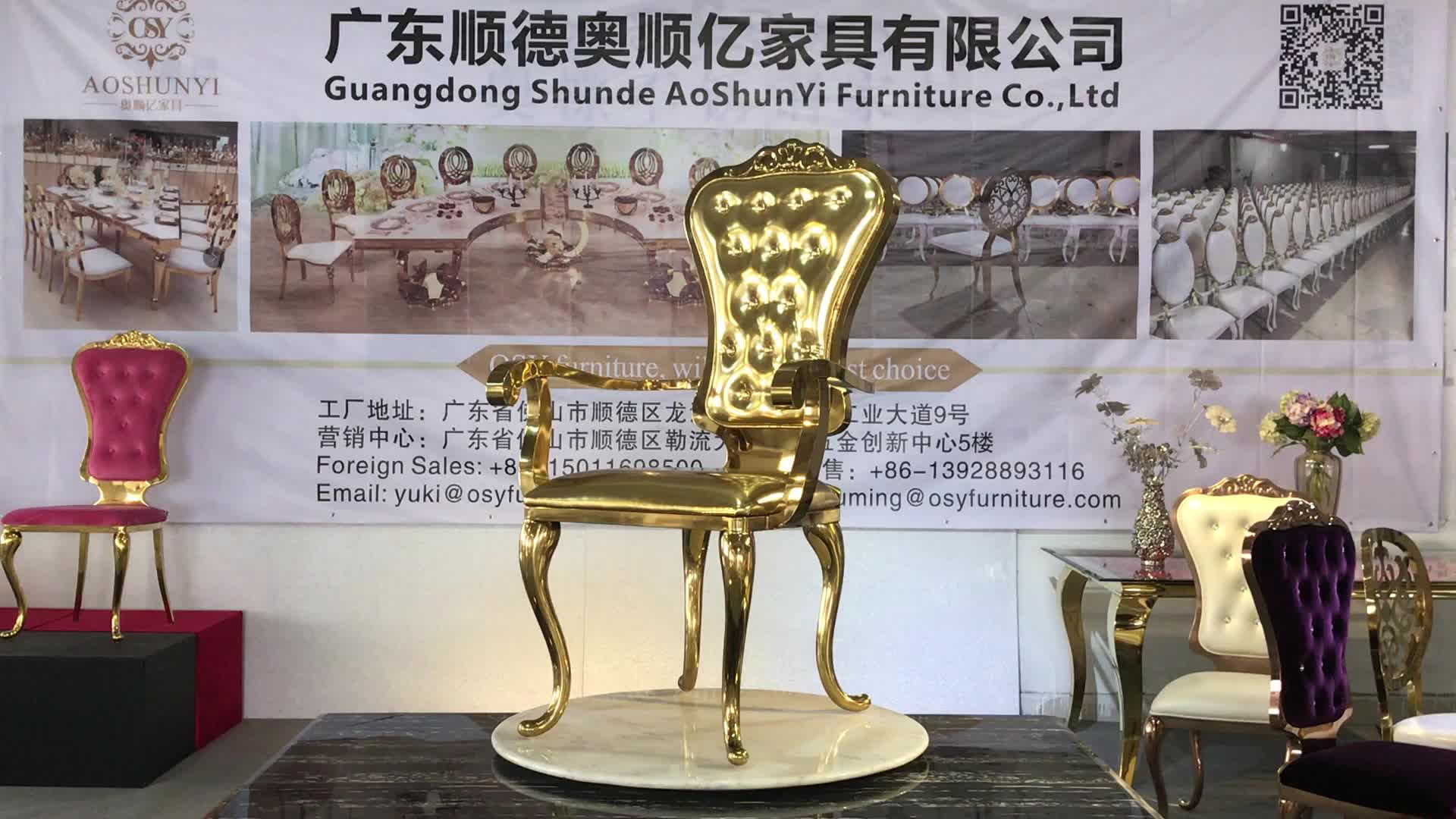 Luxury Chairs For Wedding Wedding Cheap High Back King Throne Chair For Party Luxury