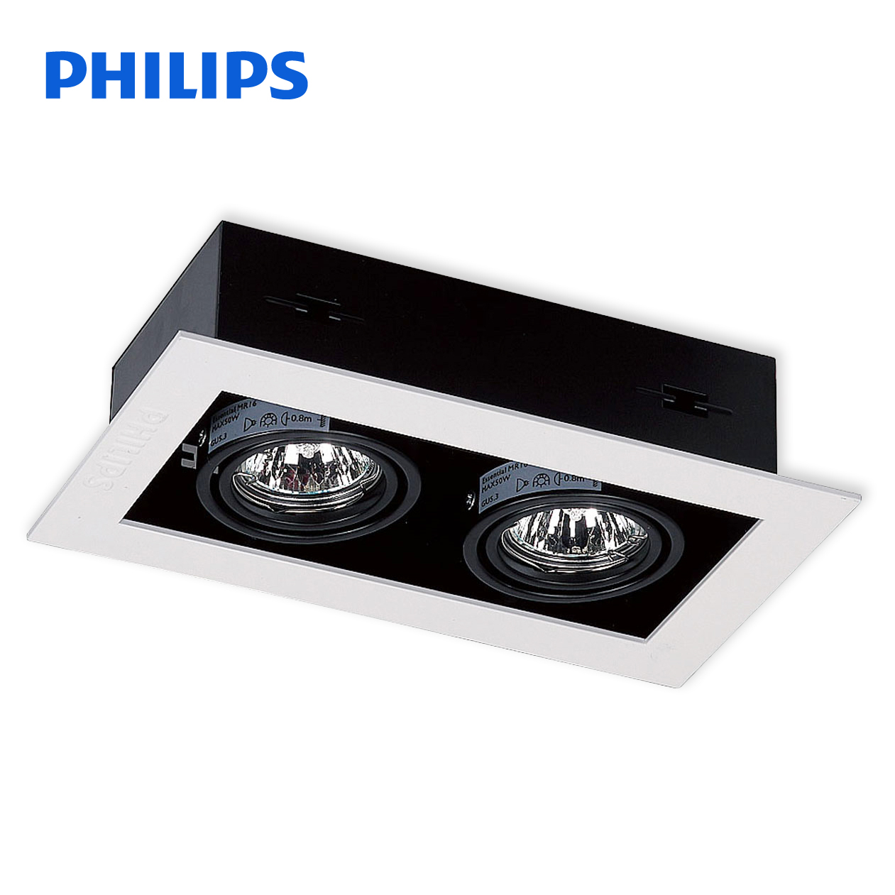 Easy Led Philips Long Easy Led Spotlights Lbx300 Mr16 Single Double Head Daring Lamp Halogen Lamp Cup Bean Gall Grille