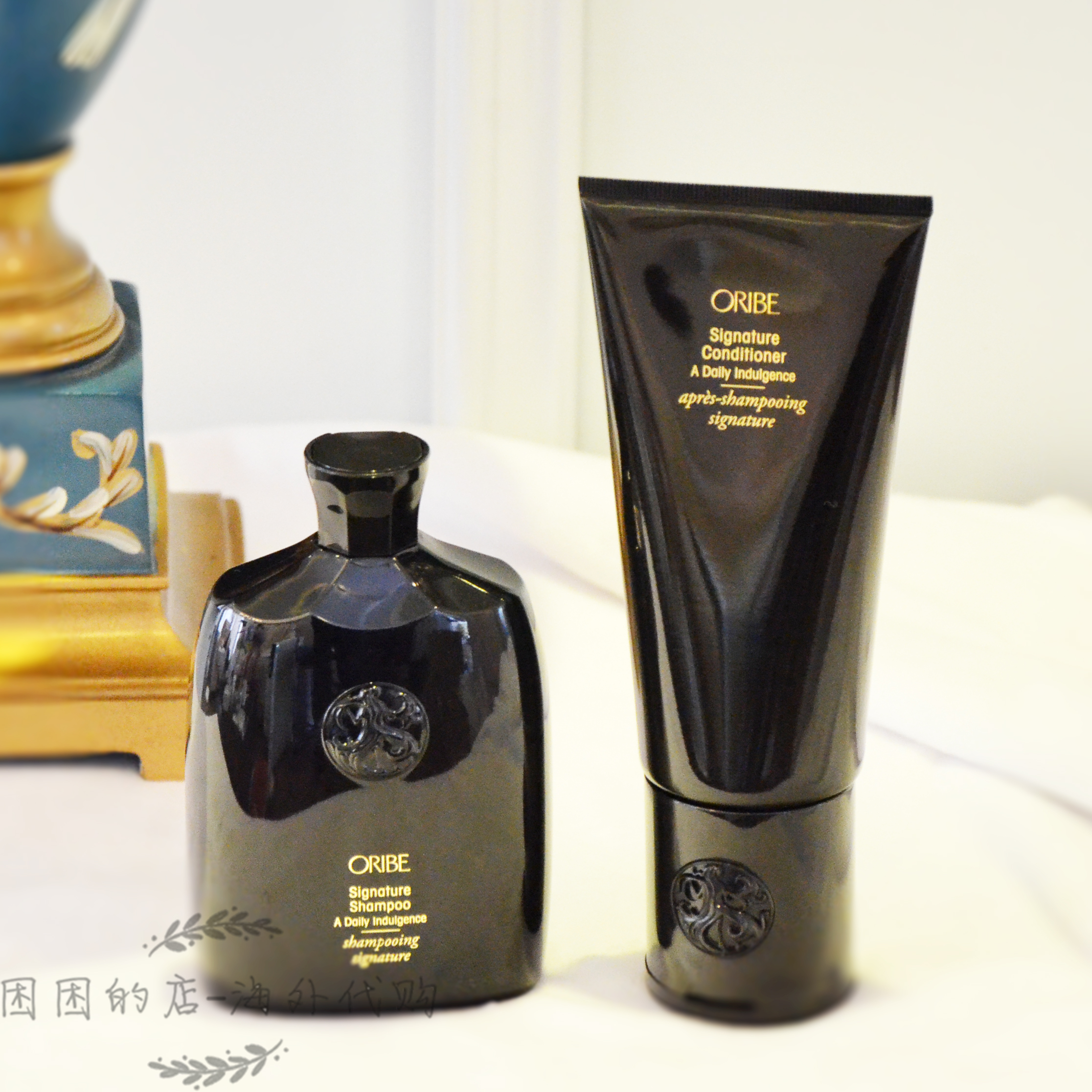 Oribe Shampoo Spot United States Oribe Signature Daily Gold Medal Shampoo Conditioner 250 1000ml Ladies
