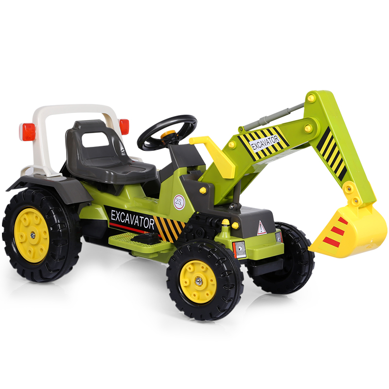 Yunyoubao children\u0027s excavator toys can sit and ride engineering