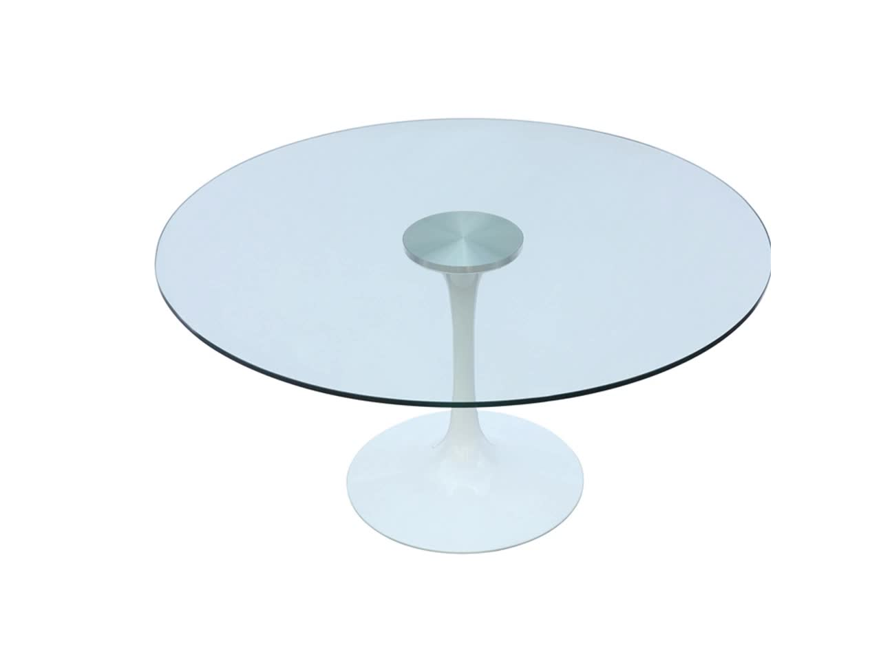 Modern Round Glass Dining Table Modern Glass Top Dining Table With Round Base Buy Glass Top Dining Table Glass Dining Table With Round Base Modern Round Glass Table Product On