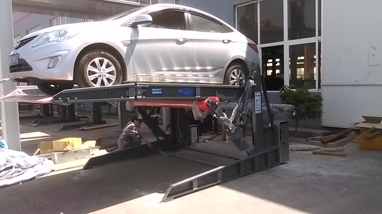 Car Lift In Garage Widely Used Residential Auto Parking Hydraulic Lifting Elevator 2 Post Car Lift For Home Garage Buy 2 Post Car Lift Used Home Garage Car Lift Garage