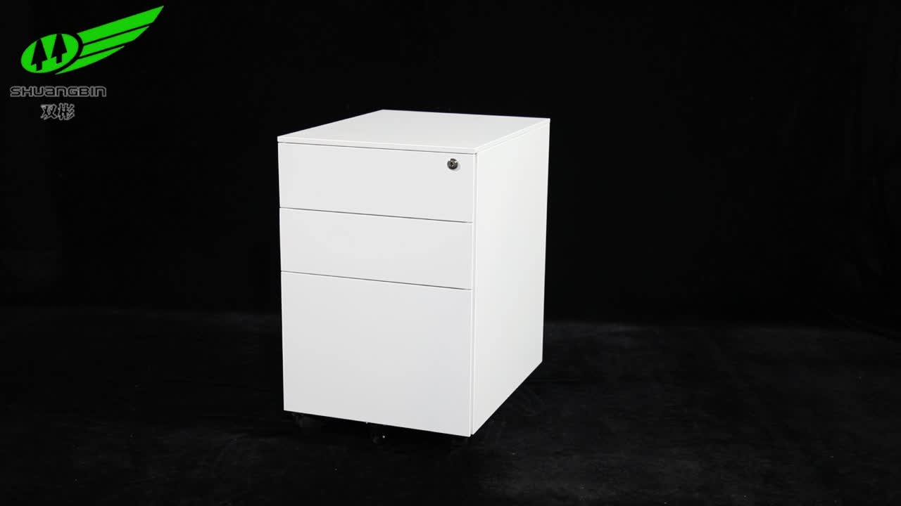 Directly Factory Cheap Steel Black Movable File Cabinet