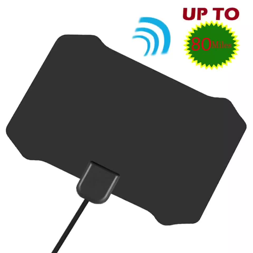 Antena Indoor Wholesale Digital Indoor Tv Antenna Amplified 80 Miles Range Detachable Antena Tv Digital And 13ft Coaxial Cable Hdtv Antenna Buy Coaxial Cable Hdtv