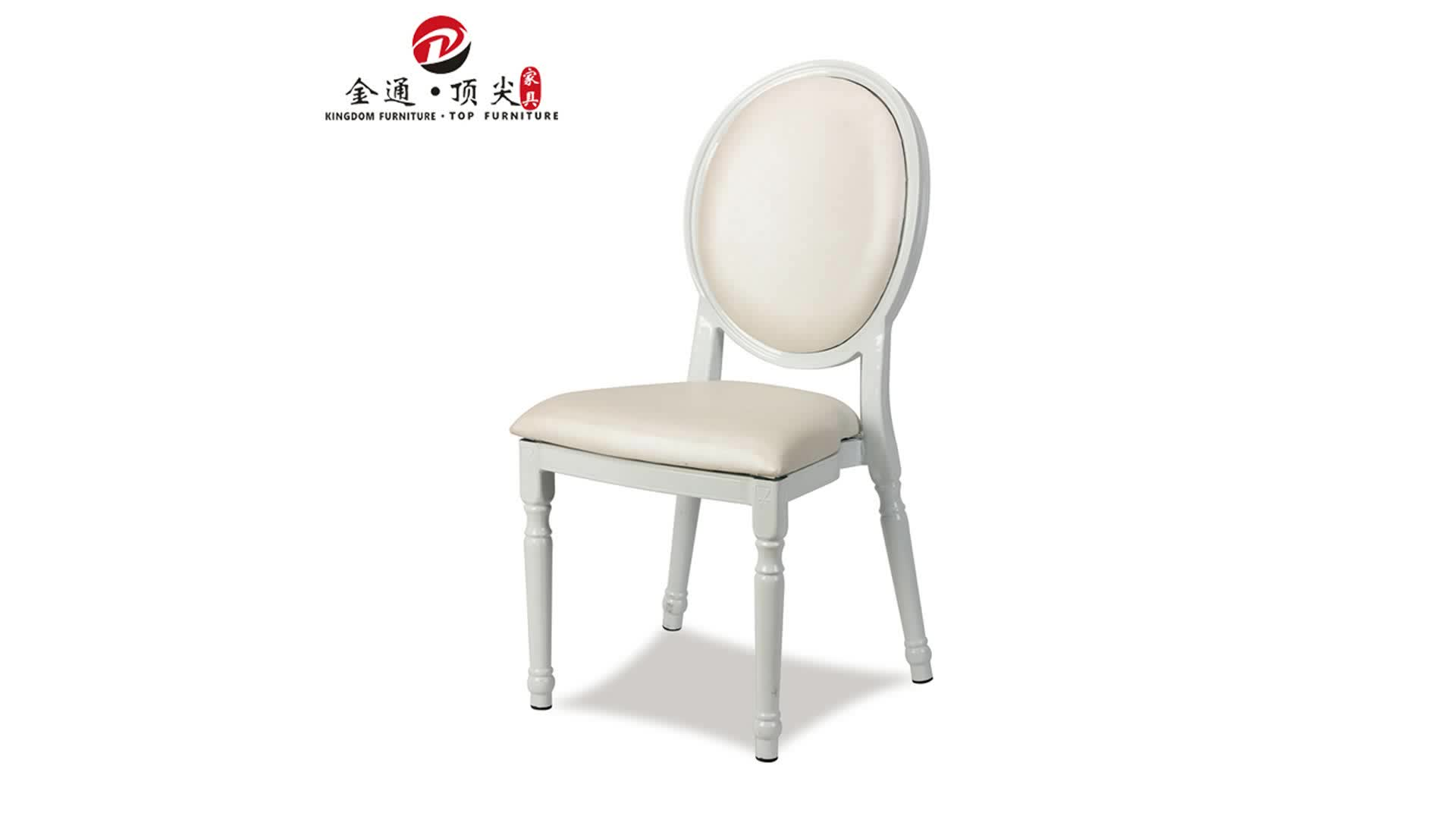 Luxury Chairs For Wedding Top Furniture Removable Cushion Round Back Throne Chairs