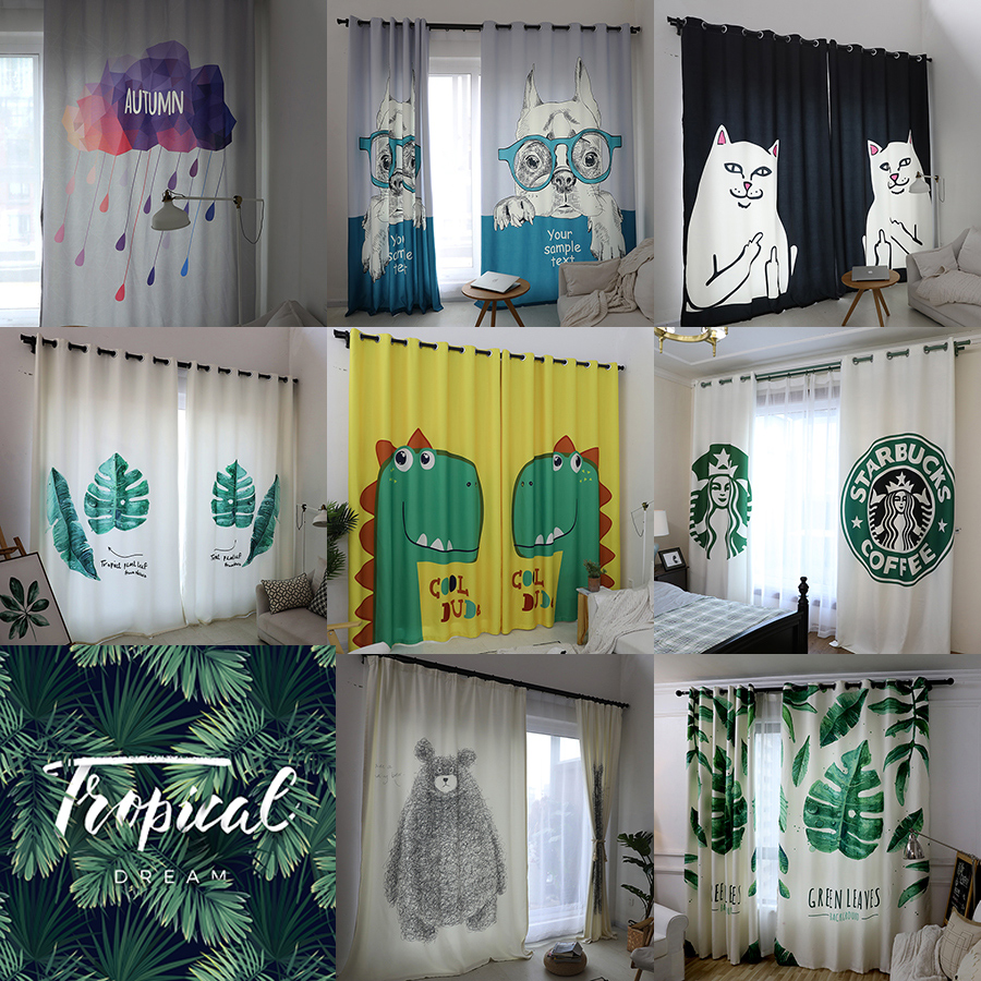 Curtain Fabric Wholesale Free Processing Second Class Curtain Fabric Special Clearance Processing Bedroom Window Screens Rental Room Full Shade Fabric
