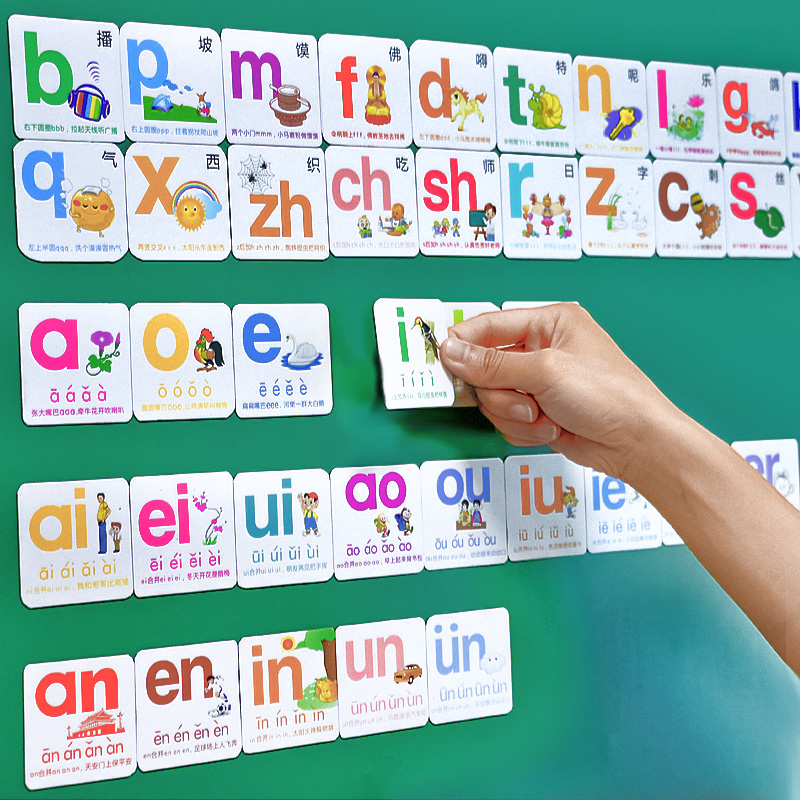 USD 2154 With magnetic alphabet cards grade one teaching - alphabet card