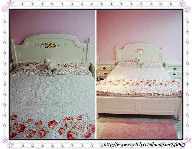 【傢俱】梵谷白浪漫玫瑰古典小窩