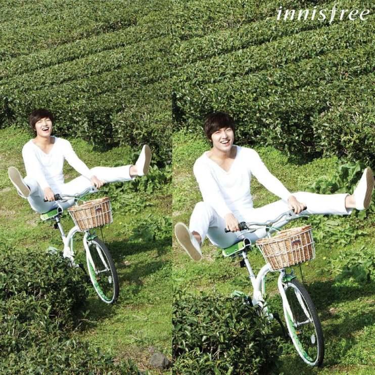 【活動】什麼~!!!驚嘆號(李敏鎬)代言的第一大天然韓國保養品牌「innisfree」即將來台!!