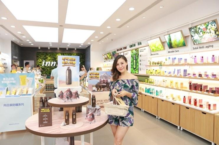 【保養】innisfree台中店開啦~♥ 韓國第一天然保養品牌!!