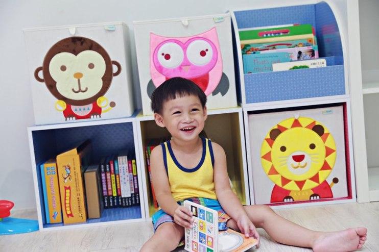 【Baby】大小空間皆宜收納櫃/箱~♥ MyTolek 積木櫃打造溫馨的兒童室