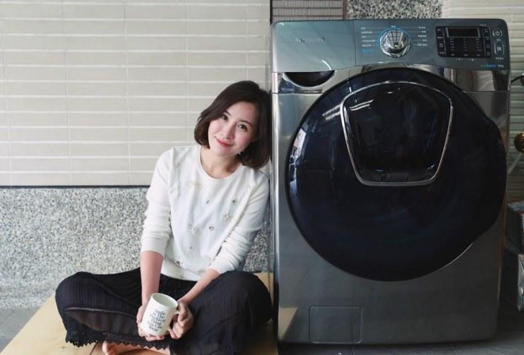 【生活】媽媽的好幫手~三星AddWash潔徑門超大容量滾筒洗衣機