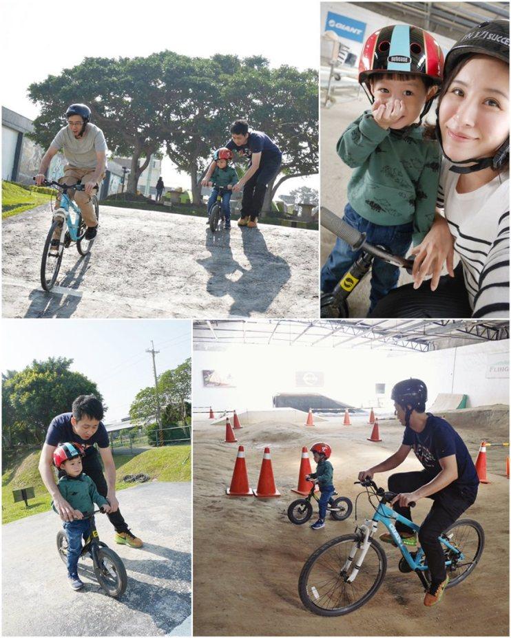 【台中外埔】大甲遛小孩的最佳選擇~♥鐵山腳單車運動村